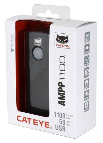 Eclairage Avant Cateye Ampp 1100 Réf. HL-EL1100RC - 1100 Lumens