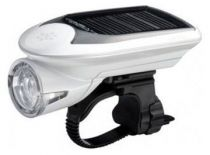 Eclairage Avant Cateye EL020 Hybrid (Pile&Solaire)- 1 Led- 100 Lumens