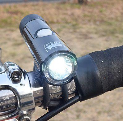 Eclairage Avant Cateye Volt 100 XC Réf. HL-EL051RC - 100 Lumens