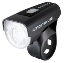 Eclairage Avant Sigma Roadster Light USB 25 Lux Noir