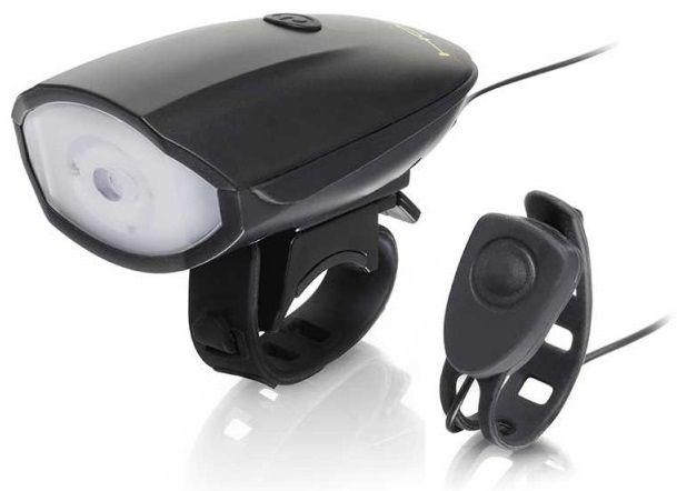 Eclairage Hornit Avant Led Light 250 Lumens + Klaxon Bike Horn 120 Décibels