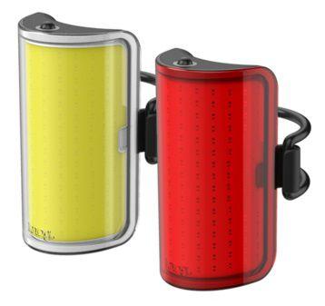 Eclairages Avant 110 Lumens & Arrière 50 Lumens Knog Cobber Twinpack Medium réf. 12191