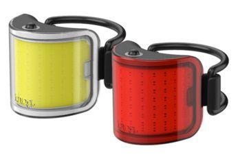 Eclairages Avant 110 Lumens & Arrière 50 Lumens Knog Cobber Twinpack Small réf. 12188