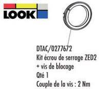 Ecrou Look+Vis de Blocage Pédalier Zed 2 - réf.DTCA/0277672
