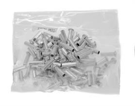 Embouts de Câble Argent 1.6mm - Les 100