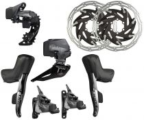 Ensemble Electrique Sram Force Etap AXS HRD 12v (Hydraulic Road Disc)