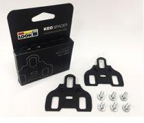 Entretoises de Compensation Keo Spacer Pédales Look Route - Semelles Plates - Sachet de 2 en 1.5mm - Compatibles Keo
