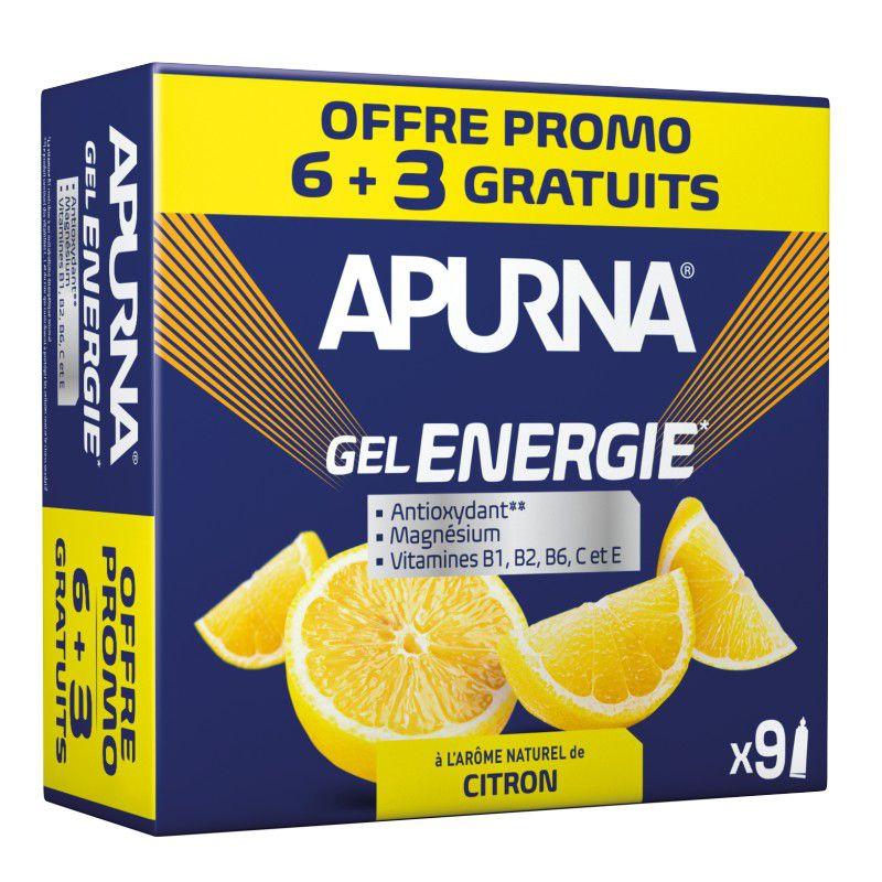 Etui 6+3 Gels Energie Apurna 35g - Format Promo