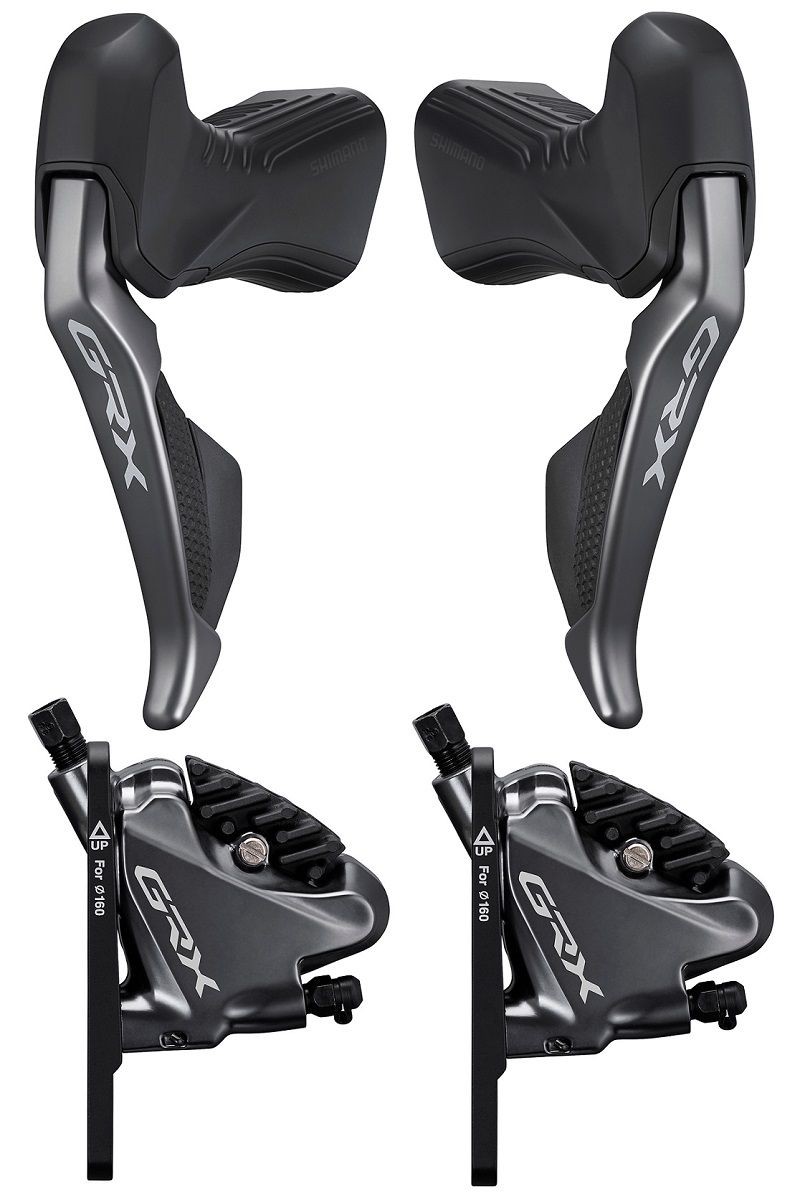 Freins Hydraulique à Disques Gravel Shimano GRX Di2 11v - Etriers BR-RX810 + Leviers ST-RX815