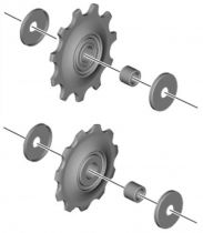 Galets Shimano M6000 - Paire
