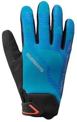 Gants Hiver Shimano Windbreak Thermal Reflective Gloves - Super Promo