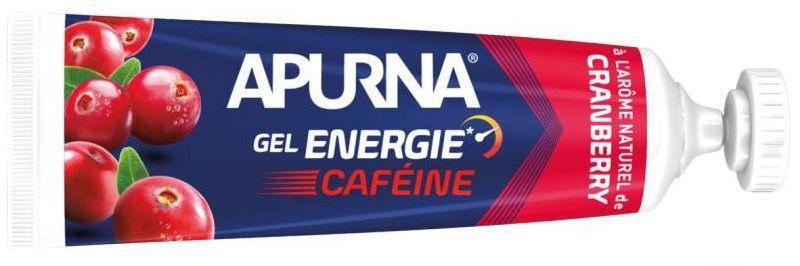 Gel Energie Apurna Caféine 35g  - Passage Difficile & Fin d\'Epreuve