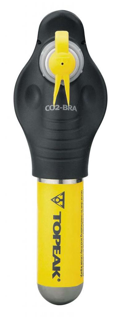 Gonfleur Topeak CO2-Bra CO² Inflator + Cartouche 16g