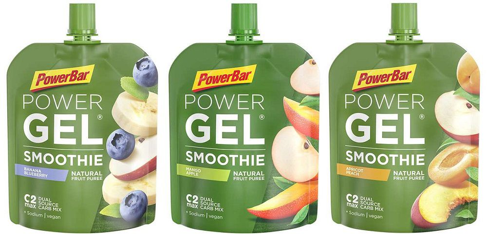 Gourde PowerBar PowerGel Smoothie 90g