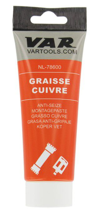 Graisse Var au Cuivre - Tube 100ml - réf. NL-78600