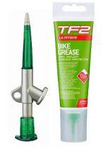 Graisse Weldtite TF2 au Teflon 125ml avec Pistolet