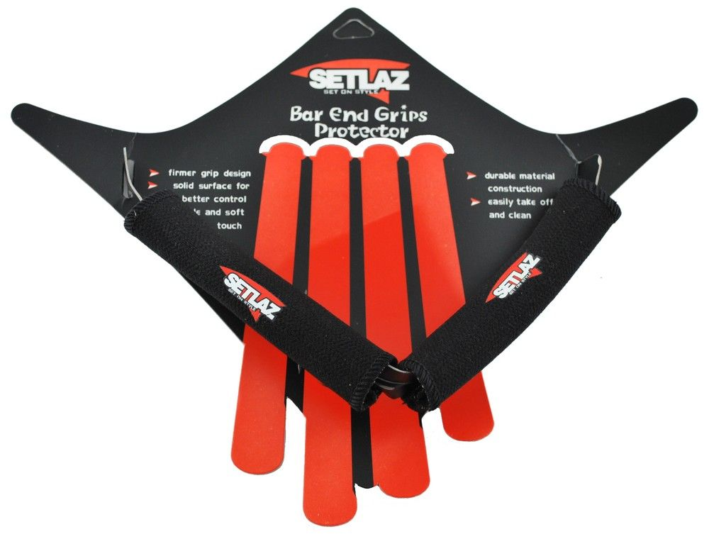 Grips Setlaz GD-562 Néoprene & Kevlar pour Bar End