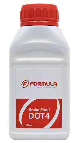 Huile 250ml Frein Hydraulique Formula Dot 4
