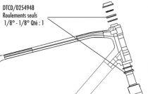Kit 2 Roulements Direction Look 566 en 1`1/8 - DTCD/0254948