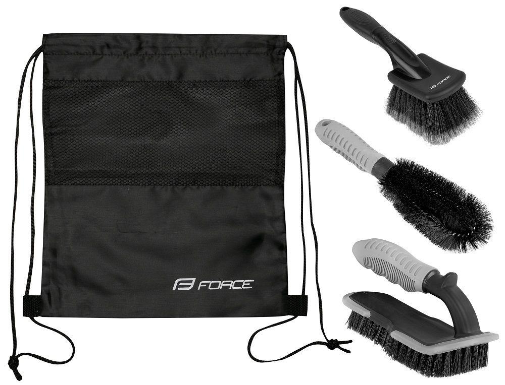 Kit Nettoyage Force Eco - 3 Brosses