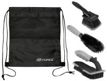 Kit Nettoyage Force Eco - 3 Brosses