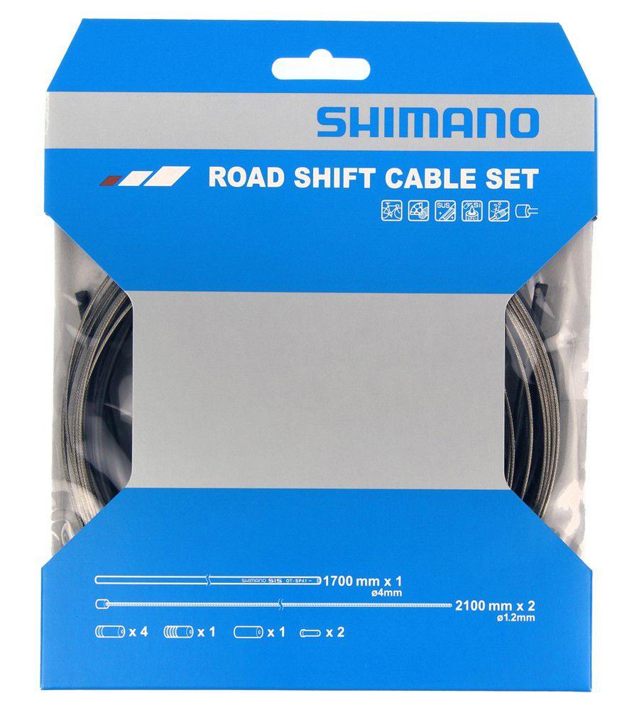 Kit Shimano Dérailleur Y60098022 Gaines Noires + Cables
