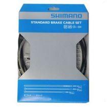 Kit Shimano Eco Gaines Noires + Cables Freins