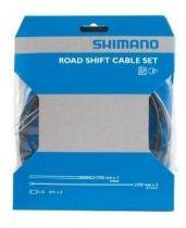 Kit Shimano Eco SIS Gaines Noires + Cables Dérailleur