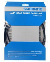Kit Shimano Frein (Y80098019) Gaines Noir + Câbles Frein 2200mm