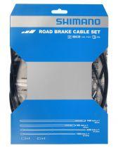 Kit Shimano SLR Sil-Tec Revêtement en PTFE Gaines Couleur + Cables Freins