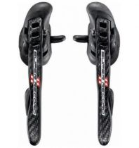 Leviers Campagnolo Super Record Ultra-Shift Carbone 11v