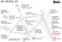 Liner Look 695 (2x1m + 1x0.4m) - DTCD/0277686