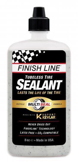 Liquide Préventif Anti Crevaison Finish Line Tubeless Tire Sealant 240ml - 8oz
