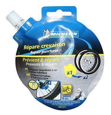 Liquide Préventif Michelin Anti-Crevaison pour Pneus Tubeless et Tubetype