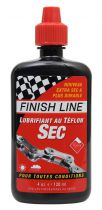 Lubrifiant 120ml Finish Line Teflon 4OZ pour Temps Sec