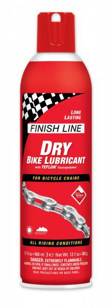 Lubrifiant 500ml Finish Line Teflon 17OZ pour Temps Sec