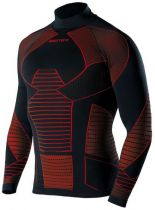 Maillot de Corps Biotex Bioflex Warm Icebreak Turtleneck Compression Hiver Manches Longues Art.182
