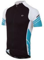 Maillot MC Pearl Izumi Elite Jersey 4EG Noir/Blanc/Bleu