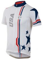 Maillot MC Pearl Izumi LTD Blanc France - Super Promo