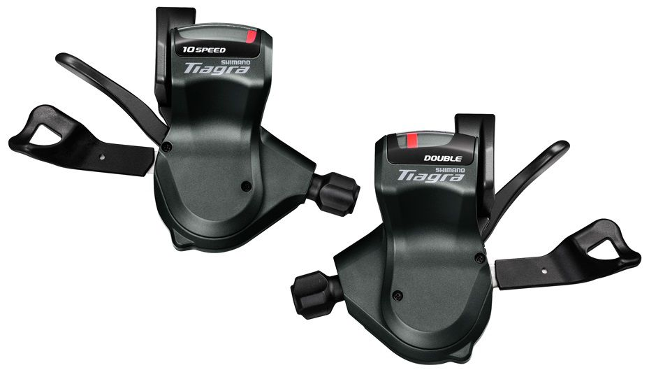 Manettes Shimano Tiagra SL-4700 Rapid Fire Plus 2x10v avec Indicateur