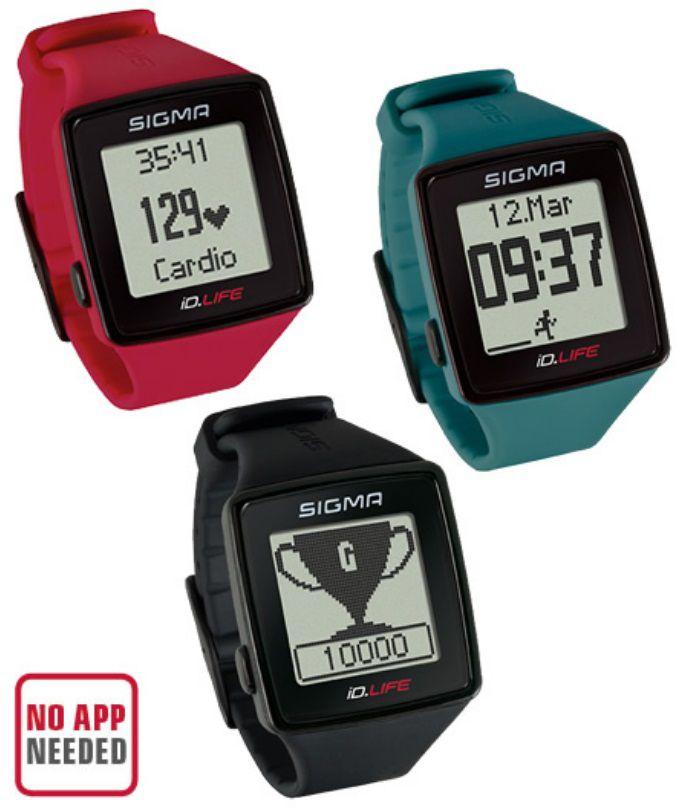 Montre Cardio Sigma iD.Life - Promo