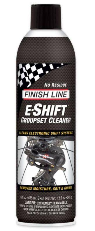 Nettoyant Finish Line E-Shift Groupset Cleaner - Aérosol 492ml