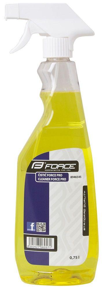 Nettoyant Force PRO Spray 750ml Jaune