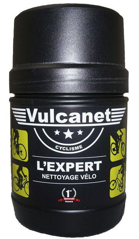 Nettoyant Vulcanet Vélo avec le Brunsh Pen - Pot 60 Lingettes