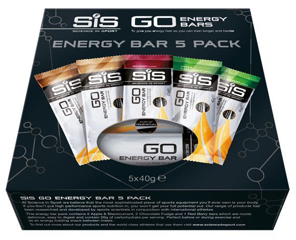 Pack 5 Barres SIS Go Energy Bars