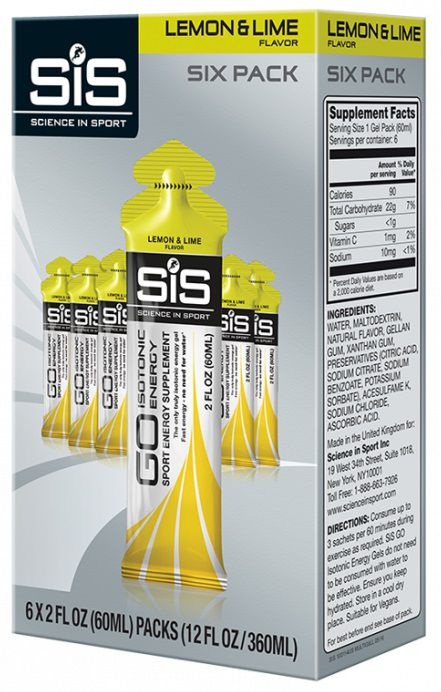 Pack 6 Gels SIS Go Isotonic Energy