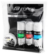 Pack de 3+1 Crèmes Force (Cool + Warm + Regener + Care)
