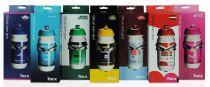 Pack Porte Bidon Tacx Ciro Carbon & Fibre de Verre + Bidon Tacx Shiva Bio Pro Team 50cl