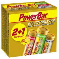Pack PowerBar 2+1 Tubes 10 tablettes 5 Electrolytes mangue/framboise/citron