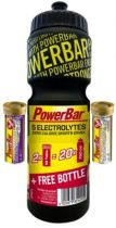Pack PowerBar 2 tubes 10 tablettes 5 electrolytes + bidon